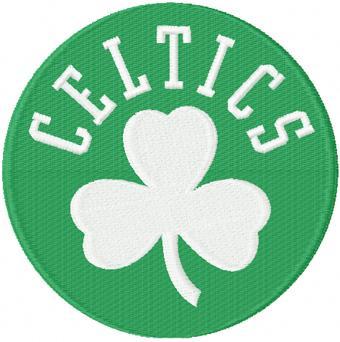 Boston Celtics Alternate Logo machine embroidery design