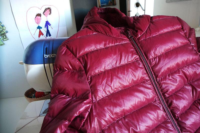 Repaired kids' jacket