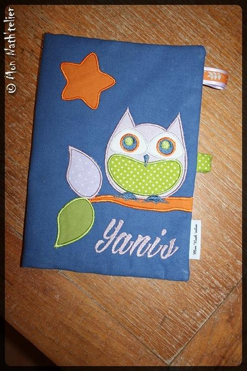 Cover with applique free embroidery design