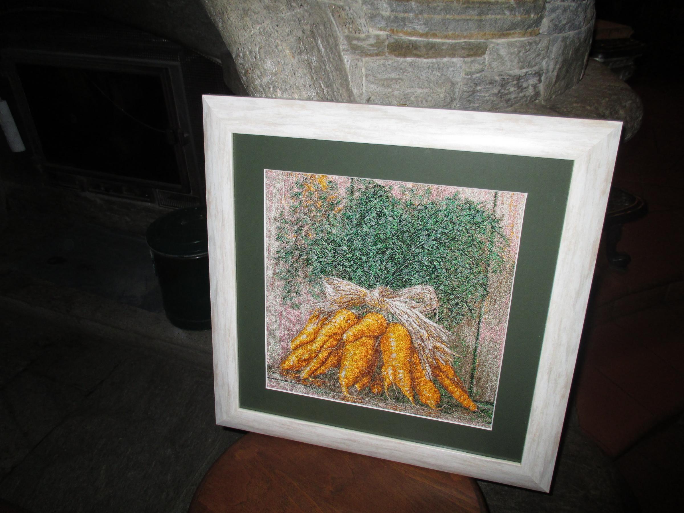 Carrot bouquet design