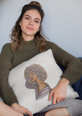 Woman's embroidery showcase
